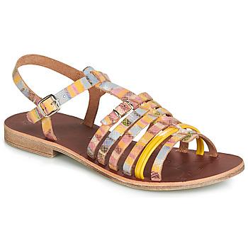 鞋子 女孩 凉鞋 GBB BANGKOK 彩色 / 黄色