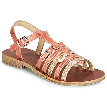 鞋子 女孩 涼鞋 GBB BANGKOK 珊瑚色