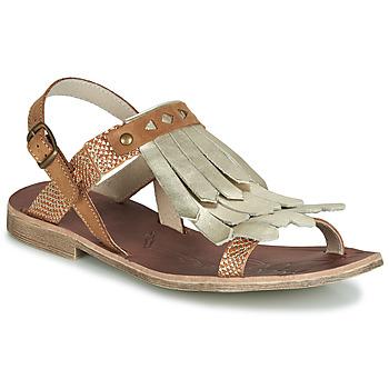 鞋子 女孩 凉鞋 GBB ACARO 棕色 / 金色