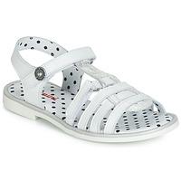 鞋子 女孩 凉鞋 Catimini MUNDA 白色