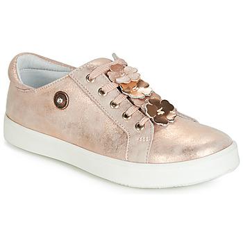 鞋子 女孩 球鞋基本款 Catimini CRISTOL 玫瑰色