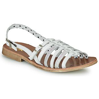 鞋子 女孩 涼鞋 Catimini NOBO 白色