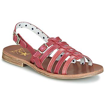 鞋子 女孩 凉鞋 Catimini NOBO 玫瑰色