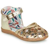 鞋子 女孩 平底鞋 Catimini NAYA 金色