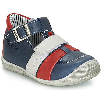 鞋子 男孩 凉鞋 Catimini TIMOR 海蓝色 / 红色