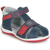 鞋子 男孩 凉鞋 Catimini BALIMO 海蓝色 / 红色