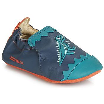 鞋子 男孩 拖鞋 Catimini CADANO 海蓝色 / 橙色