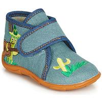 鞋子 男孩 拖鞋 GBB PLAZZO 藍色