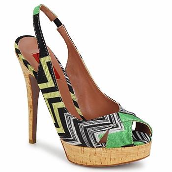 鞋子 女士 凉鞋 Missoni RM71 绿色