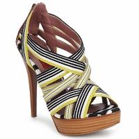鞋子 女士 凉鞋 Missoni RM20 黄色 / 白色