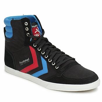 鞋子 高帮鞋 Hummel TEN STAR HIGH CANVAS 黑色 / 蓝色 / 红色