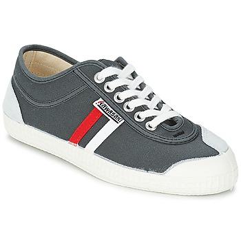 鞋子 男士 球鞋基本款 Kawasaki 川崎凌风 RETRO CORE 灰色 / 红色 / 白色 / Rayé