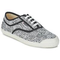鞋子 球鞋基本款 Kawasaki 川崎凌风 FANTASY STEPS 印花 / 白色