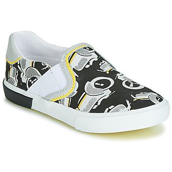 鞋子 男孩 平底鞋 Catimini CAMAZO 白色 / 黑色