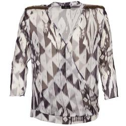 衣服 女士 女士上衣/罩衫 One Step CREPUSCULE 灰色 / 白色