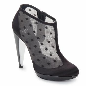鞋子 女士 短靴 Azzaro 阿莎露 INTERLUDE 黑色