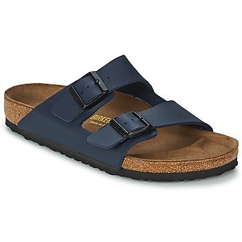 鞋子 男士 休闲凉拖/沙滩鞋 Birkenstock 勃肯 ARIZONA LARGE FIT 蓝色