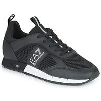 鞋子 男士 球鞋基本款 EA7 EMPORIO ARMANI LACES U 黑色