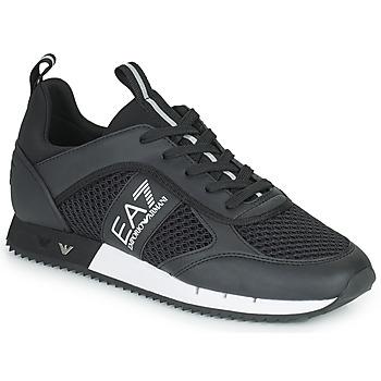 鞋子 球鞋基本款 EA7 EMPORIO ARMANI LACES U 黑色