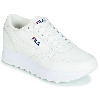 鞋子 女士 球鞋基本款 Fila ORBIT ZEPPA L WMN 白色
