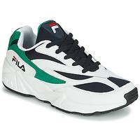 鞋子 男士 球鞋基本款 Fila VENOM LOW 白色 / 绿色
