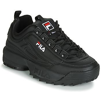 鞋子 女士 球鞋基本款 Fila DISRUPTOR LOW WMN 黑色