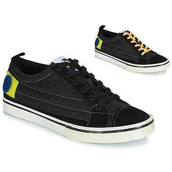 鞋子 男士 球鞋基本款 Diesel 迪賽爾 D-VELOWS LOW PATCH 黑色