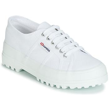 鞋子 女士 球鞋基本款 Superga 2555 COTU 白色