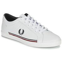鞋子 男士 球鞋基本款 Fred Perry B722 白色