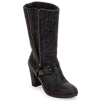 鞋子 女士 都市靴 Buttero MERENS 黑色 / 灰色