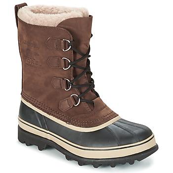 鞋子 男士 雪地靴 Sorel CARIBOU 棕色