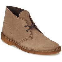 鞋子 男士 短筒靴 Clarks 其乐 DESERT BOOT 棕色
