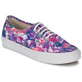 鞋子 女士 球鞋基本款 Vans 范斯 AUTHENTIC SLIM 紫罗兰