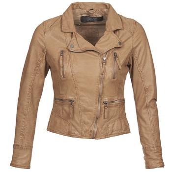 衣服 女士 皮夹克/ 人造皮革夹克 Oakwood CAMERA 棕色