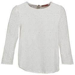 衣服 女士 长袖T恤 Esprit 埃斯普利 VASTAN 白色