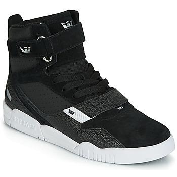鞋子 男士 高幫鞋 Supra BREAKER 黑色