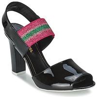 鞋子 女士 凉鞋 Sonia Rykiel 索尼亚·里基尔 683902 黑色 / 玫瑰色