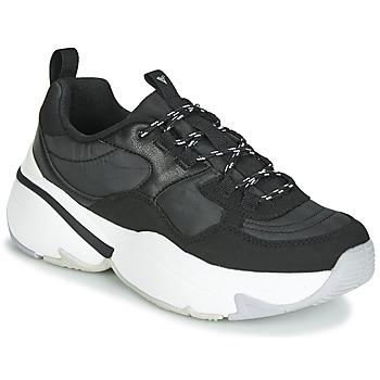 鞋子 女士 球鞋基本款 Victoria 维多利亚 AIRE NYLON/SERRAJE PU 黑色