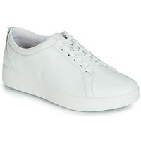 鞋子 女士 球鞋基本款 FitFlop RALLY SNEAKER 白色