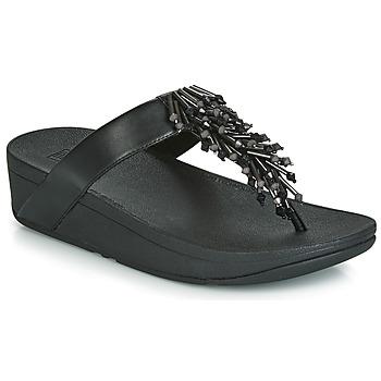 鞋子 女士 人字拖 FitFlop JIVE TREASURE 黑色