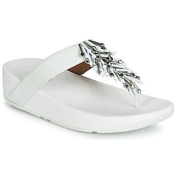 鞋子 女士 人字拖 FitFlop JIVE TREASURE 白色