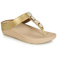 鞋子 女士 凉鞋 FitFlop FINO SHELLSTONE 金色