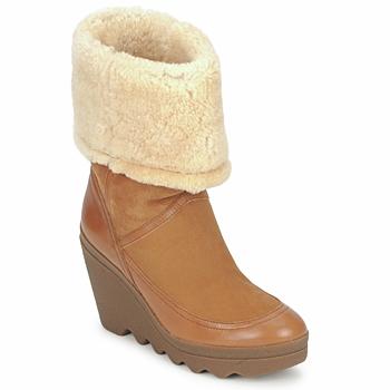 鞋子 女士 短靴 Ash 艾熙 VARUSHKA 驼色
