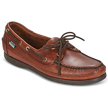 鞋子 男士 船鞋 Sebago 仕品高 SCHOONER 棕色