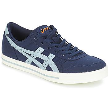 鞋子 球鞋基本款 Asics 亚瑟士 AARON CANVAS 蓝色