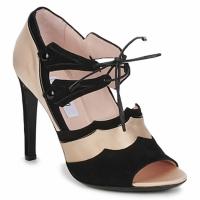 鞋子 女士 凉鞋 Moschino MA1601 100-RASO-NUDE-CANE