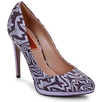 鞋子 女士 高跟鞋 Missoni SM113 米色 / 淡紫色