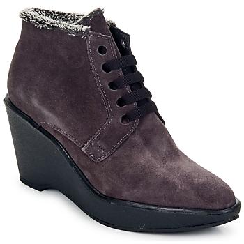 鞋子 女士 短靴 Parallèle LAHO 李子色