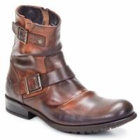 鞋子 男士 短筒靴 Base London METAL 茶色