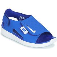 鞋子 男孩 涼鞋 Nike 耐克 SUNRAY ADJUST 5 藍色